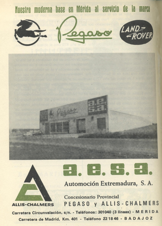 PEGASO. LAND ROVER