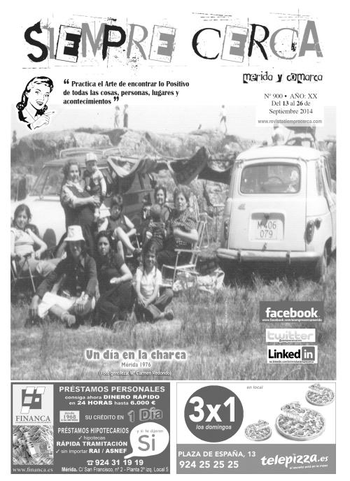 Proserpina. Charca. Año 1976