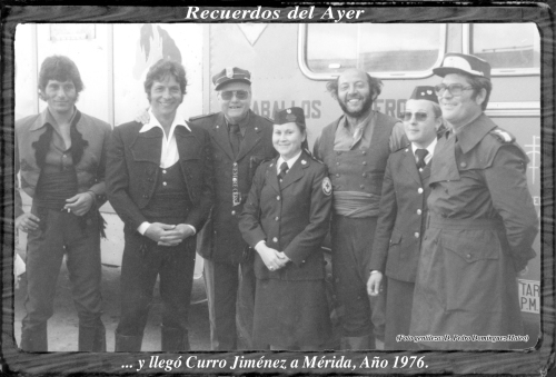 FOTO ANTIGUA MERIDA. AÑO 1976