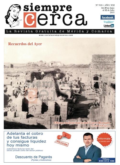 1920 TEATRO ROMANO DE MÉRIDA