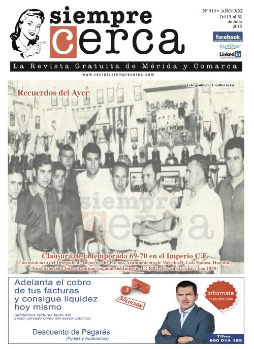 1969-1970 Imperio C.F. Mérida