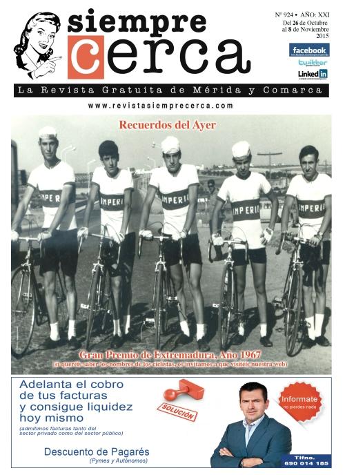 Ciclismo. Gran Premio Extremadura. 1967