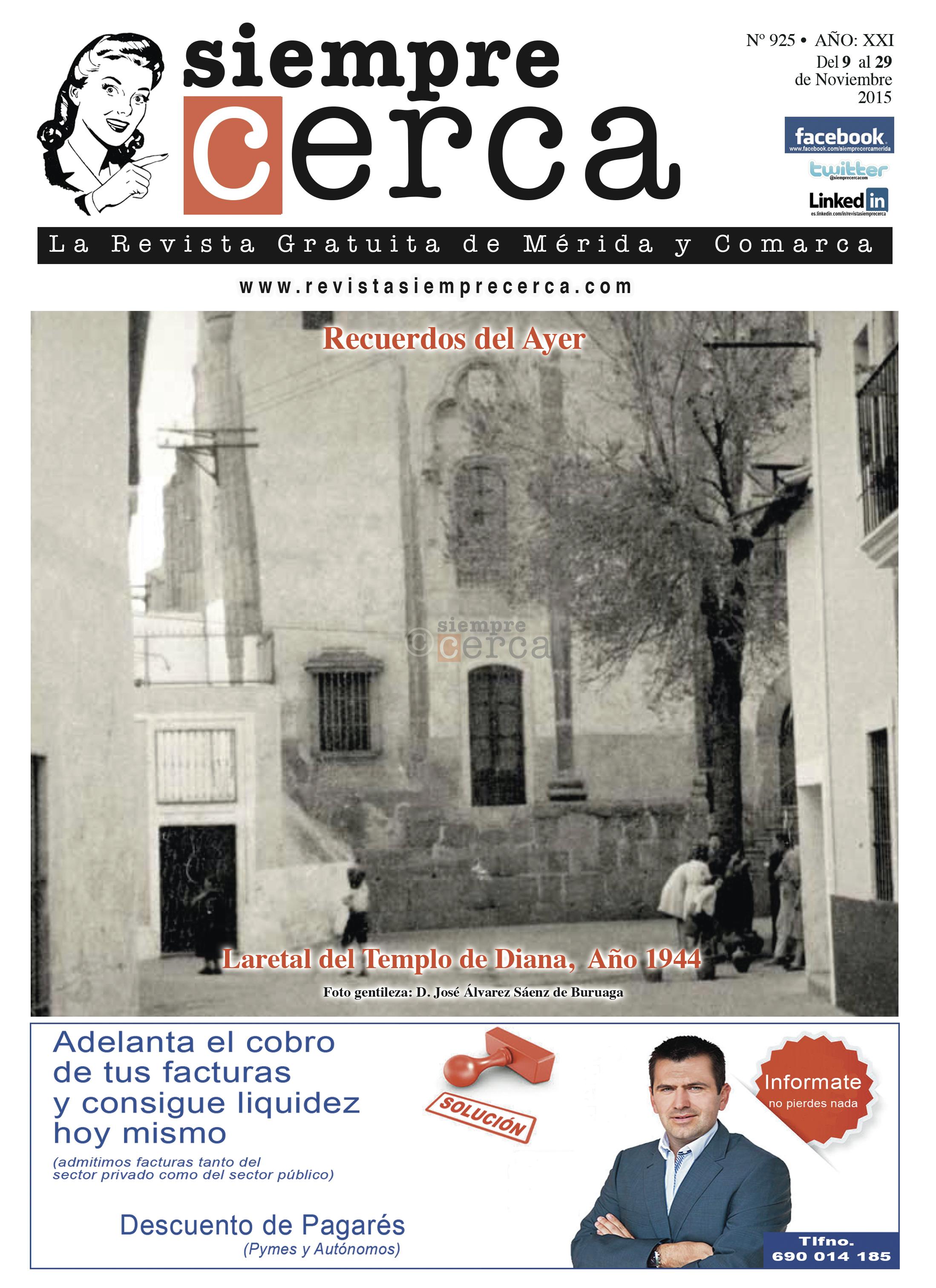 Revista Siempre Cerca. Mérida. 1944