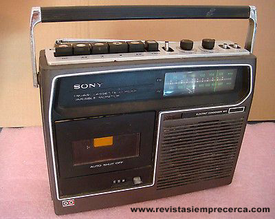 Radiocassette. Revista Siempre Cerca. Mérida