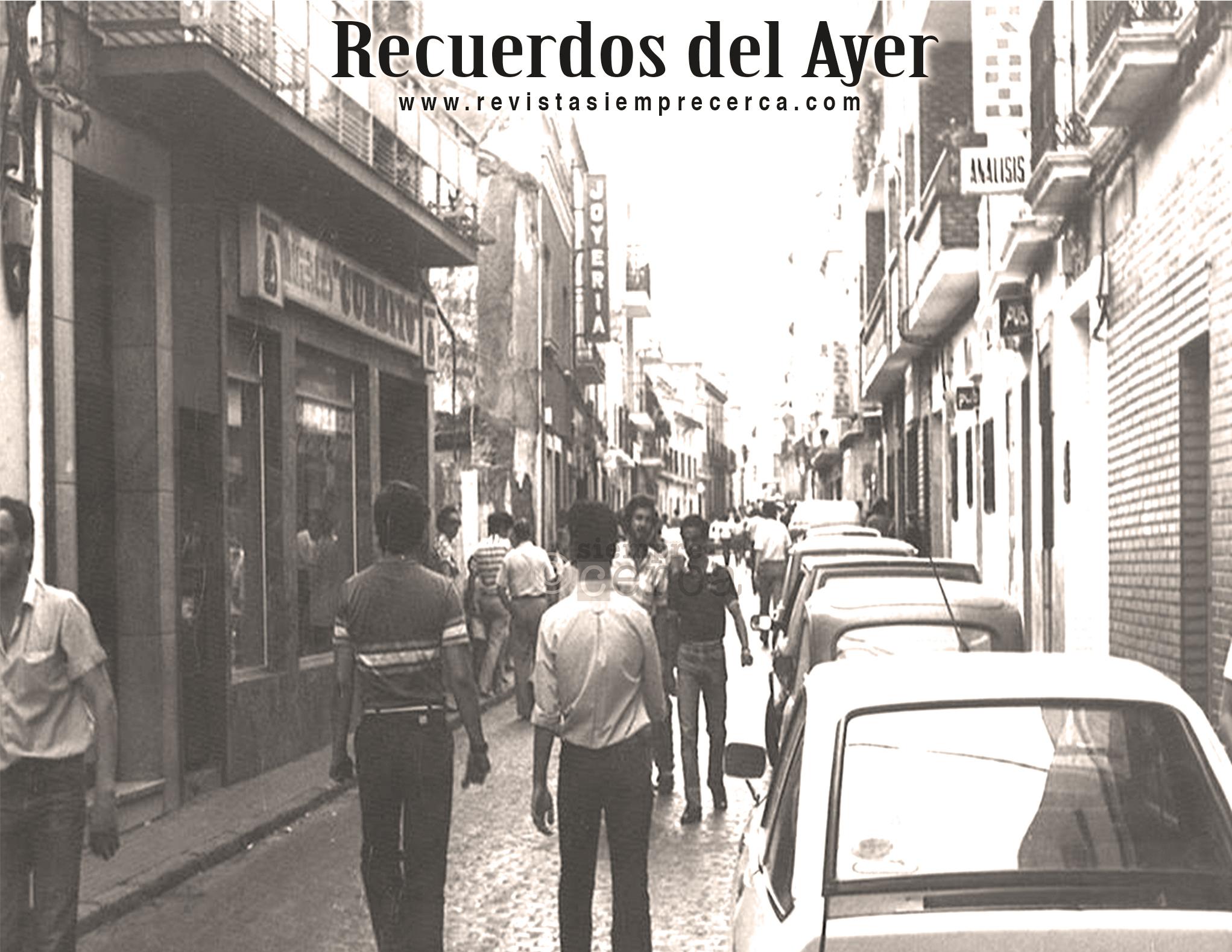 Calle John Lennon. Mérida. 1970