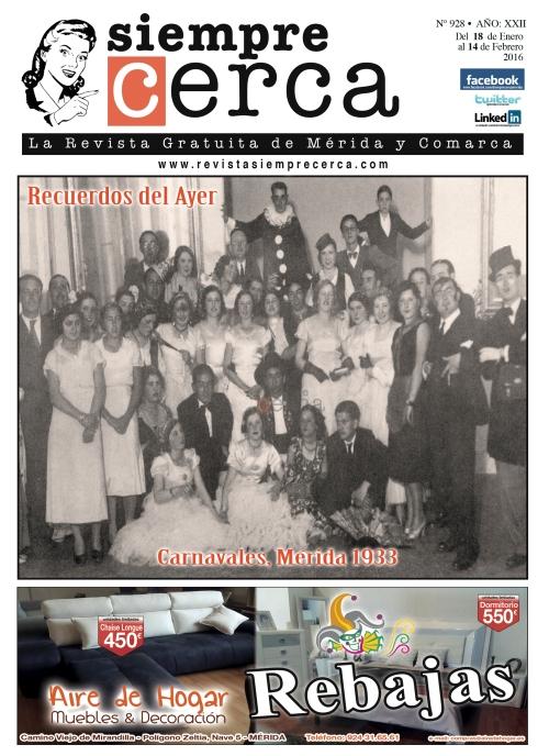 Revista Siempre Cerca. Mérida 1933