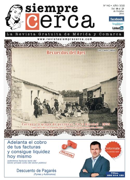 Arrabal. Mérida. 1859