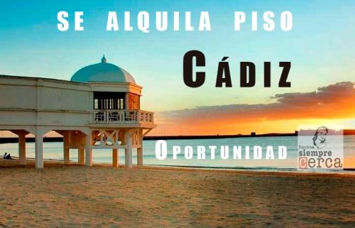 Cádiz Alquiler 2021